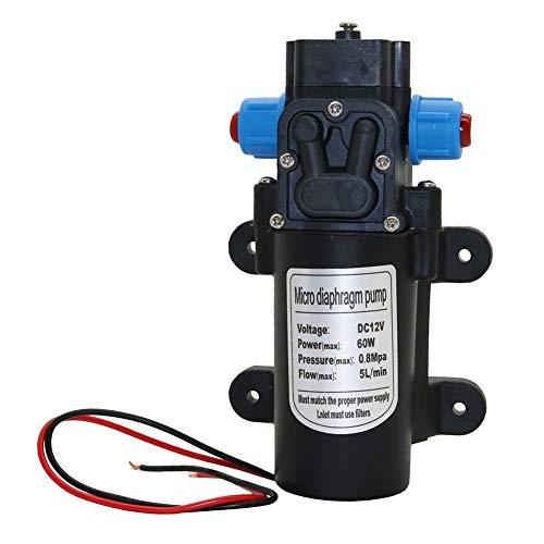 Splitter manguera de agua Bomba de agua DC 12V 0.8MPa 5L /...
