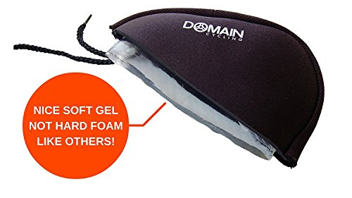 Domain Cycling Premium Bike Gel Seat Cushion Cover