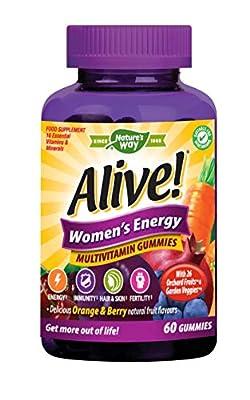 Alive! Women's Energy Multivitamin Gummies