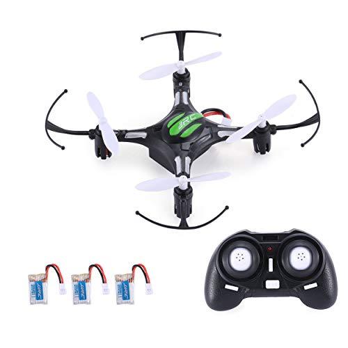 Lorenlli Ajuste JJR/C H8 Mini 2.4G 4CH 6 Ejes Gyro Drone RC Quadcopter 360 Función Flip Función sin Cabeza RTF con 3 baterías RTF