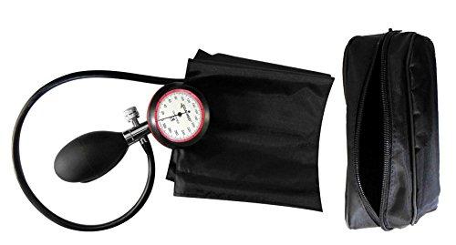 Blutdruckmessgerät Oberarm 1-Schlauch 1 Stück Blutdruckmesser KI Klettmanschette/Etui Marke Tiga-Med Gold 1 Blutdruckmessgeräte