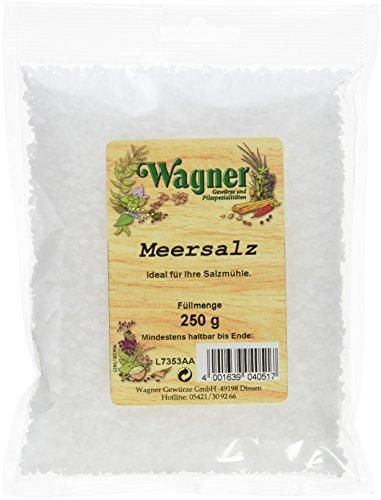 Wagner Gewürze Meersalz aus Griechenland, 6er Pack (6 x 250 g)