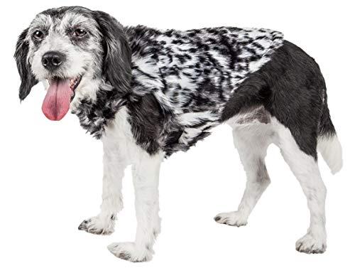 PetLife Luxe - Abrigo para Perro de Piel de visón, Talla Grande,...