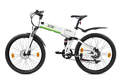 LLOBE Klappfahrrad MTB E-Bike FML 830 weiß, 28 Zoll, Akku 36V / 10.4Ah, 250 W Motor