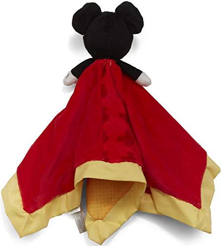 Disney Baby Mickey Mouse Plush Stuffed Animal Snuggler Blanket - Red