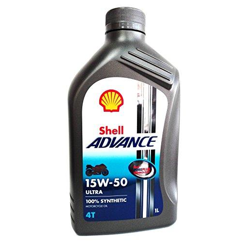Olio motore moto Shell Advance Ultra 15W50 4T API SM/JASO MA