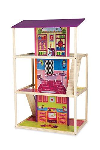 Manhattan Toy - 131820 - Poupée - Groovy Girls - Maison de Hip Happenin'