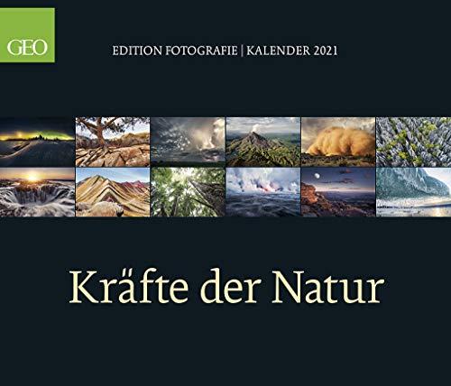 GEO Edition: Kräfte der Natur 2021 - Wand-Kalender - Poster-Kalender - 70x60