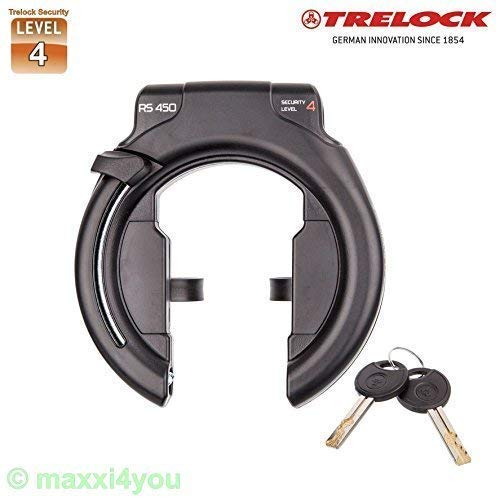 01200106 Trelock RS450 AZ Protect-O-Connect Level 4 Fahrrad - Rahmenschloss