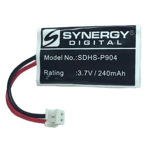 Synergy Digital Cordless Phone Battery, Works with AT&T-Lucent TL7600 Cordless Phone, (Li-Pol, 3.7V, 240 mAh) Ultra Hi-Capacity Battery
