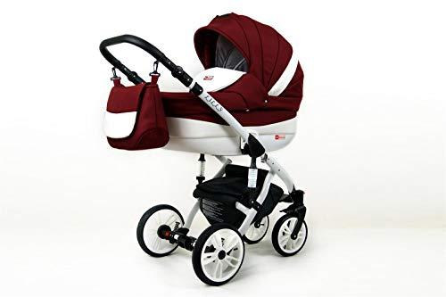 Kinderwagen 3in1 2in1 Set Isofix Buggy Babywanne Autositz Lilly by SaintBaby Chilly 2in1 ohne Babyschale