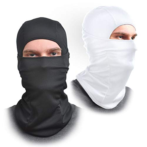 AFA Tooling Balaclava gezichtsmasker: eenheidsmaat, elastische stof, beschermt tegen wind, zon, stof, ideaal geschikt voor motorfiets, zomer en winter.