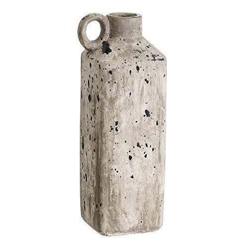 Flair Vitrine Vaso para cepillos de Dientes Taza/ /balarigue de cer/ámica Color Crema Jungle Tropic ba/ño Nostalgie r/ústico Shabby French