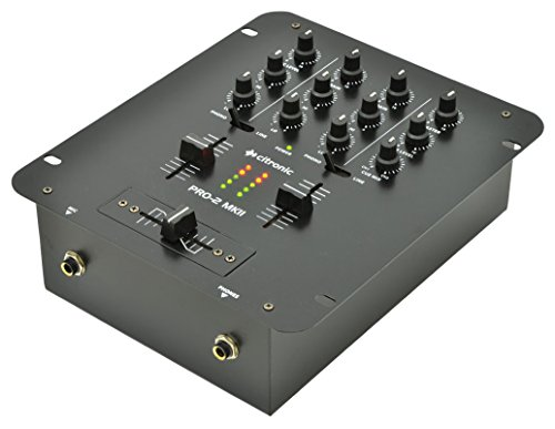 Citronic PRO-2 MKII DJ Battle Mixer 2-Channel