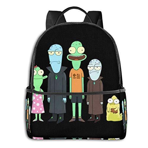 Solar=Opposites Laptop Backpack Fashion Theme School Backpack
