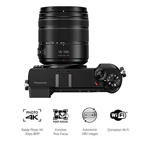 Panasonic DMC-GX80HEFK DSLR-Kamera 16,84
