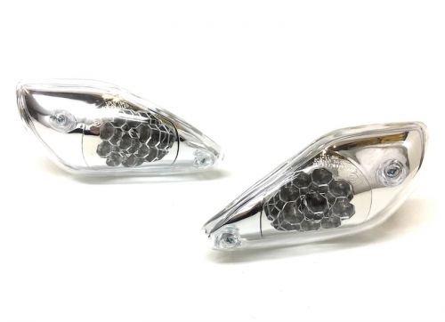 LED Blinker vorne E-Geprüft Lenker Verkleidung für Aerox MBK Nitro 50 100