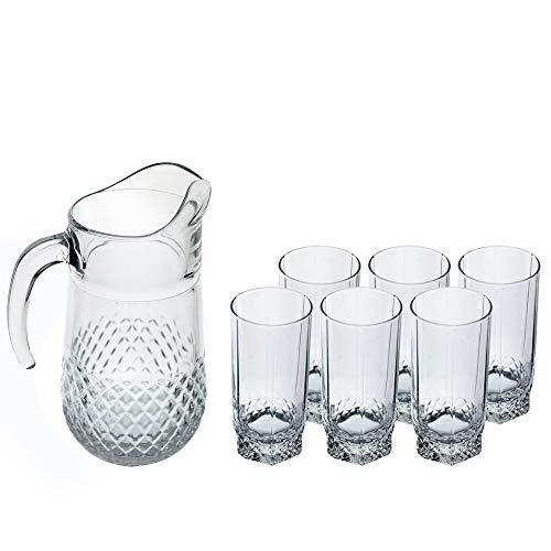 Pasabahce Valse 7-delige pot en glazen set