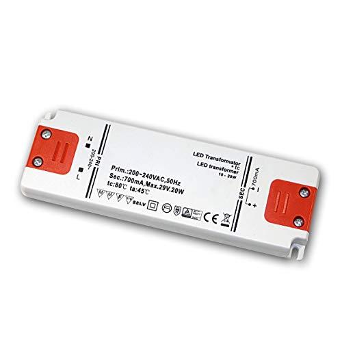 Goobay LED-Transformator; SELV Class II; Konsta, CC-Betrieb 700 mA 10 - 20 Watt