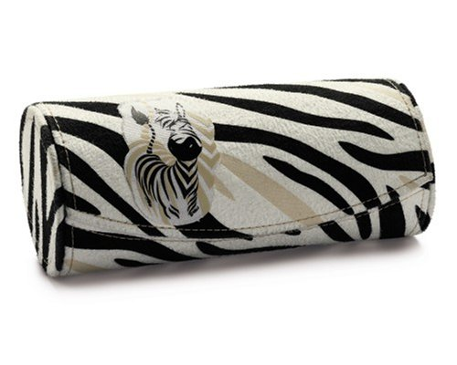 NICI Wild Friends Zebra, Brillenetui, Zebramuster