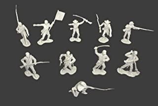Classic Toy Soldiers/ Marx Civil War Confederates 22 figures in 10 poses