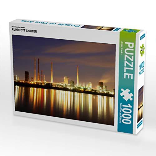 CALVENDO Puzzle Ruhrpott Lichter 1000 Teile Lege-Größe 64 x 48 cm Foto-Puzzle Bild von Armin Joecks