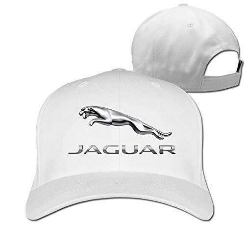 SHUIFENG66 Design Funny Jaguar Logo Adjustable Cap for Men...