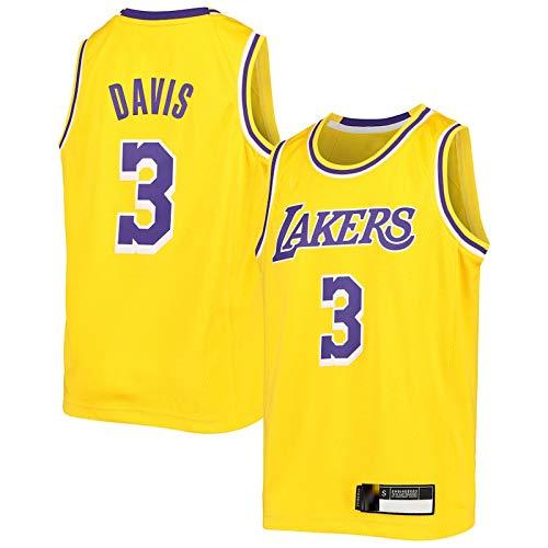 Chalecos de baloncesto personalizados #3 dorado, camiseta de secado rápido para niños, edición Icon