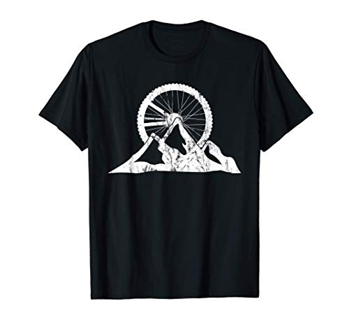 Mountain Bike Gift For MTB Biker and Cyclist T-Shirt