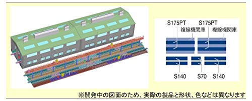 トミーテック TOMIX Nゲージ 機関区レール延長部 91037 鉄道模型用品