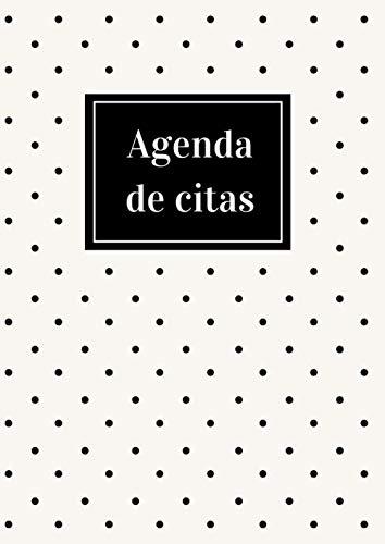 Agenda de Citas: Planificador Semanal Sin Fecha para Anotar Citas Diarias | Horario de Citas De 8:00 a 22:00 | Ideal para Peluquería, Salon de Belleza, Estética o Spa | 52 Semanas