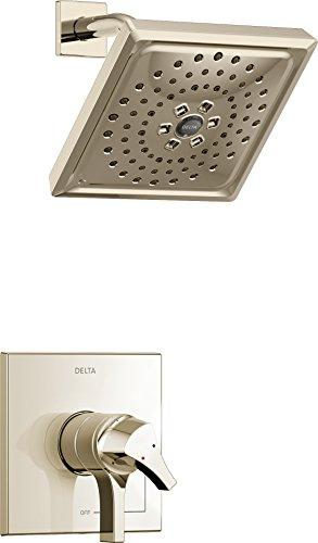 Delta grifo t17274-pn zura Monitor de la serie 17H2Okinetic ducha borde, níquel pulido