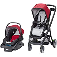 Safety 1st Riva 6-In-1 Flex Modular Travel System With Onboard 35 FLX Infant Car Seat and Base (Red Rocks)