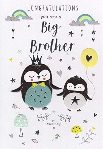ICG Penguins Congratulations Big Brother Card
