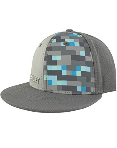 Minecraft Diamond Snapback Cap (M-L)