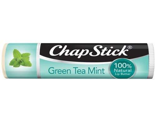 ChapStick 100% Natural Lip Butter, Green Tea Mint, 0.15 oz (Pack of 6)