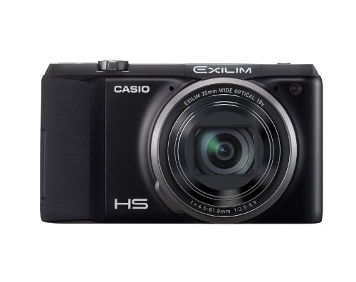 CASIO デジタルカメラ EXILIM EXZR800BK 1610万画素 タイムプラス機能 光学18倍ズーム EX-ZR800BK ブラック