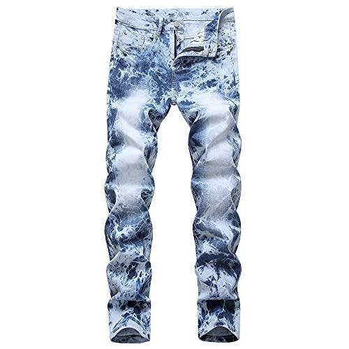 Hommes Jeans Pantalon Denim trousers Classique Regular Used Washed normal Waist