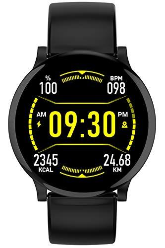Smartwatch Fitness Armband Fitness Tracker Wasserdicht IP68 Fitness Watch mit Herzfrequenz Messgerät Schlafmonitor Intelligentes Armband Fitness Uhr Stoppuhr Anruf/SMS Kalorienzähler für Damen Herren