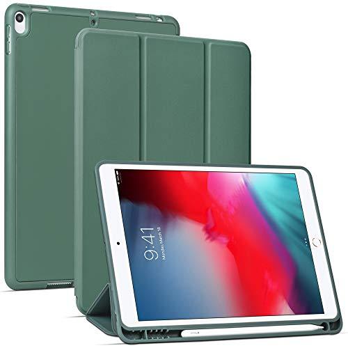 Migeec Hülle für iPad Air 10,5 2019 (3.Generation) & iPad Pro 10,5 2017 Superdünne Superleicht Schutzhülle mit Auto Schlaf/Wach Funktion, Grün