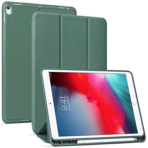 Migeec Hülle für iPad Air 10,5 2019 (3.Generation) und iPad Pro 10,5 2017 Ultradünne Superleicht Schutzhülle mit Auto Schlaf/Wach Funktion, Grün