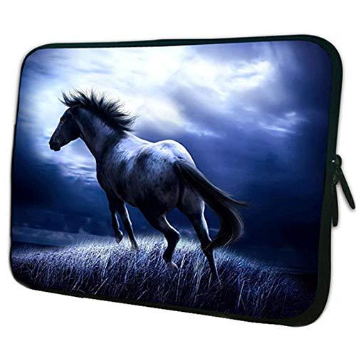 Yinghao Notebook-Tasche 15 6 15 13 12 14 10 10 1 9 7 Zoll Tablet PC-Tasche für HP Acer 17 17 3 13 3 11 6 Chromebook-Hülle für Laptops@Pferd_17 Zoll