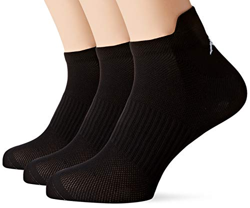 Kappa 6 Paar Sneaker Socken Schwarz Herren 43/46
