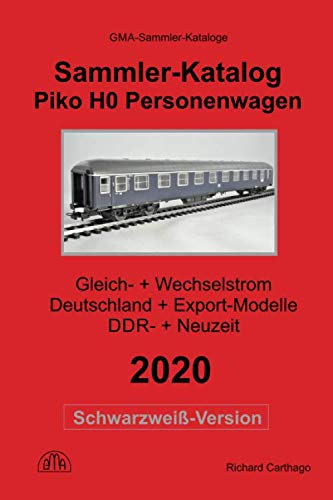 Piko H0 Sammler-Katalog Personenwagen 2020 Schwarzweiß-