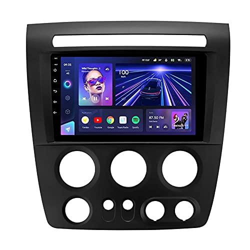 radio coche pantalla, CC3 para Hummer H3 1 2005-2010 Android 10 Radio Coche Auto Multimedia Reproductor de video Estéreo Navegación GPS Wifi 4G Control del volante DSP Carplay con cámara de visión t