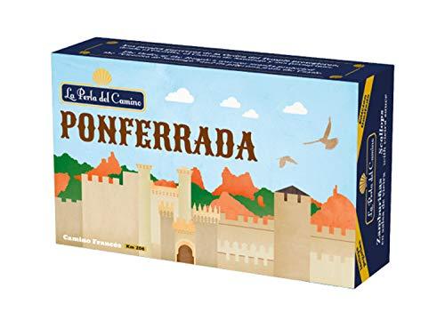 Souvenir La Perla del Camino - Ciudad de Ponferrada - Zamburiñas en...