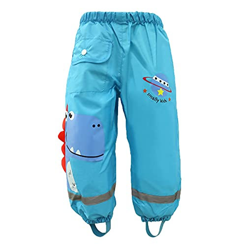wetry Pantalones Impermeables de Agua para Niños Niñas,Dibujos Animados...
