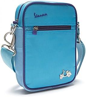 Vespa - Bolso al hombro para hombre azul claro azul claro