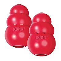 Perfect for stuffing with KONG treats Unpredictable bounce for games of fetch Recommended worldwide by Veterinarians, Trainers and dog enthusiasts Made in the USA Available in six sizes: XS, S, M, L, XL and XXL