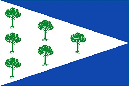 magFlags Bandera Large Municipio de Fuentenava de Jábaga Castilla-La Mancha | Bandera Paisaje | 1.35m² | 90x150cm